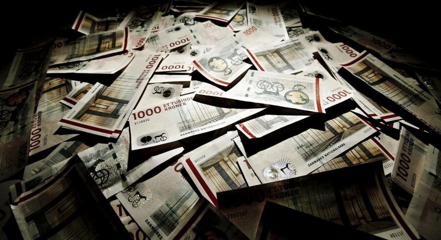 Politikere vil stoppe brug af 500 euro-seddel. Finans Danmark vil også fjerne 1000 krone-sedlen.