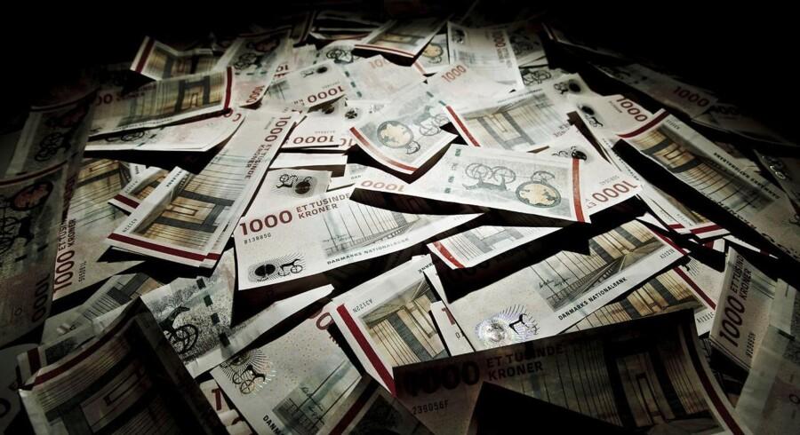 1000 kronsedler - Sådan ser en kvart million kr. ud.