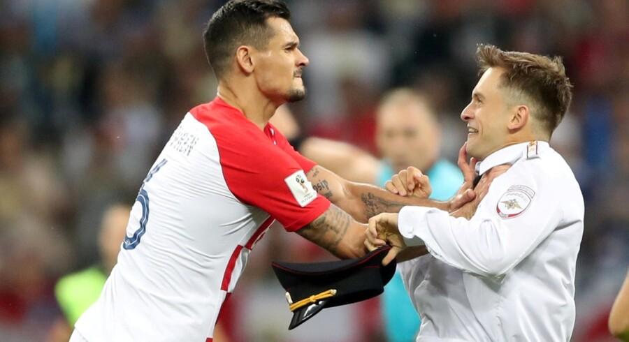 Dejan Lovren var i sommer med til at vinde sølv med det kroatiske landshold ved VM i Rusland. Carl Recine/arkiv/Reuters