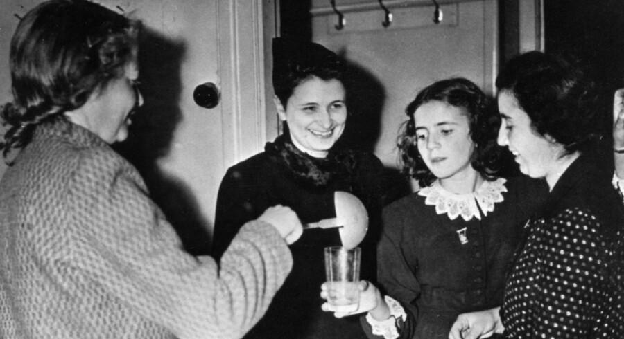 Danske flygtninge i Sverige i oktober 1943.