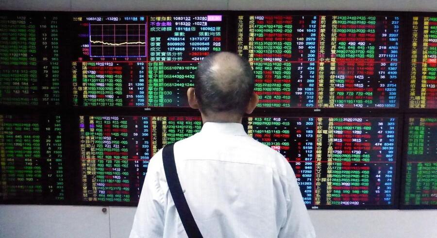De finansielle markeder har gennem den asiatiske formiddag ligget meget stille hen.