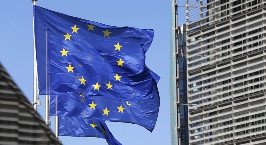 Berlaymont-bygningen i Bruxelles.