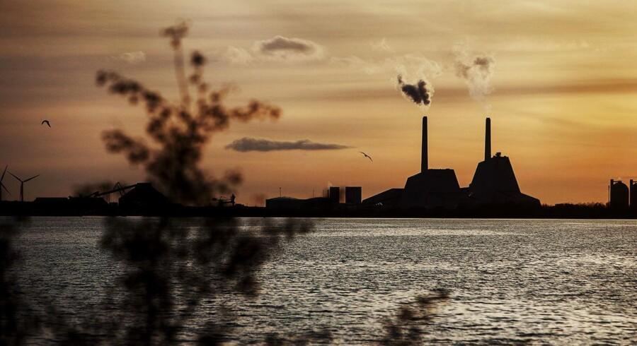 Arkivfoto: DONG Energy Avedøreværk uden for København.
