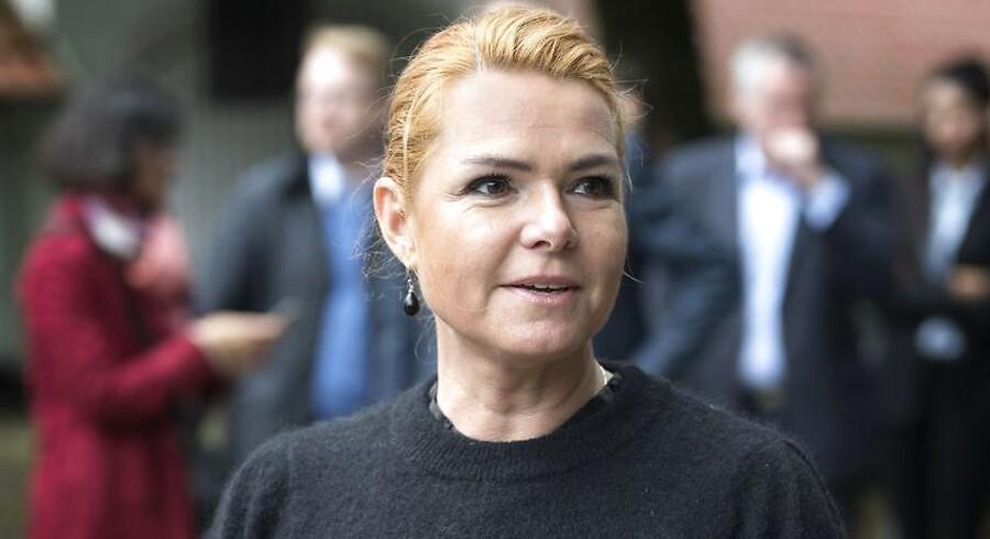 Udlændinge- og integrationsminister Inger Støjberg (V) kan være tilfreds med den nye rokade i Venstres folketingsgruppe, hvor hendes største interne kritiker, Jan E. Jørgensen, nu flyttes væk fra udlændingepolitikken.