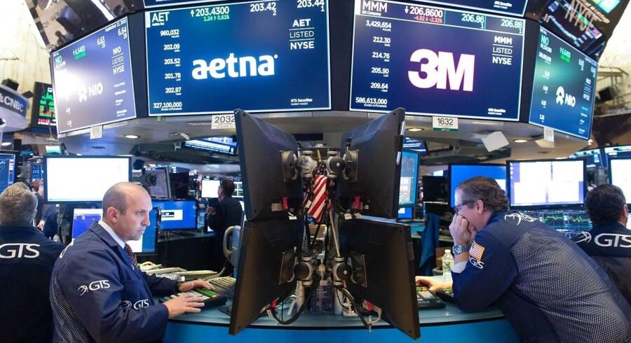 Det amerikanske aktiemarkeds rekordhøje tal er drevet af en kapitalindstrømning på 14,5 mia. dollar til amerikanske kapitalfonde.