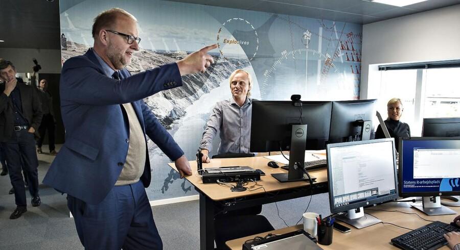 Geodatastyrelsen er en af de mange udflyttede statslige arbejdspladser. Denne styrelse fik i 2016 nyt domicil i Aalborg, der dengang blev indviet med deltagelse af bl.a. minister for energi, forsyning og klima Lars Christian Lilleholt (V).
