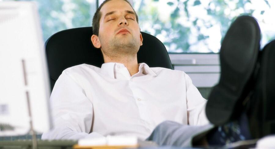 Diabetes og overvægt forekommer oftere hos mænd, der sover under fem timer hver nat, end hos dem, der får syv-otte timers søvn, viser forskning fra Gøteborg Universitet. colourbox/arkiv/Free
