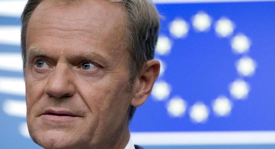 Det var EU-rådets formand, Donald Tusk, der ved et privat møde i Salzburg med flere nationale ledere torsdag erklærede den britiske premierministers forslag til en brexit-aftale umuligt.