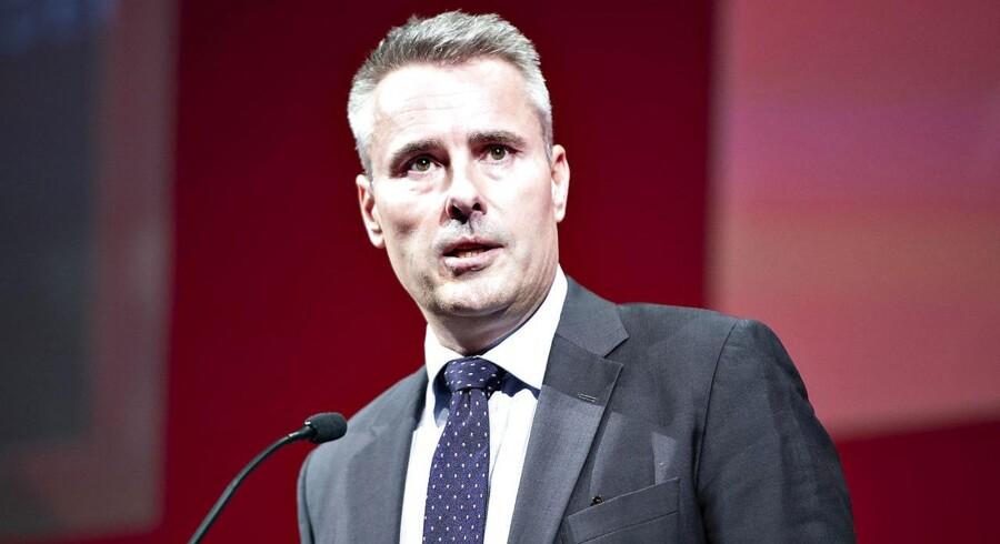 »Jeg ser en kæmpestor fællesmængde mellem Socialdemokratiet og DF, som jeg utrolig gerne vil samarbejde med dem om,« siger S-gruppeformand Henrik Sass Larsen på partiets kongres.