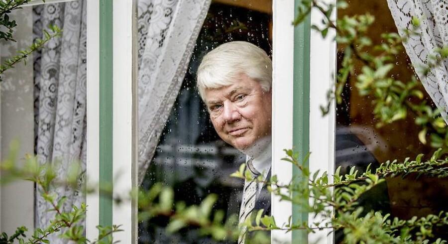 Portræt af Jørgen Mads Clausen, Danfoss-ejer, bestyrelsesformand for Danfoss A/S, Kammerherre og én af Danmarks rigeste mænd, fylder 70 år.