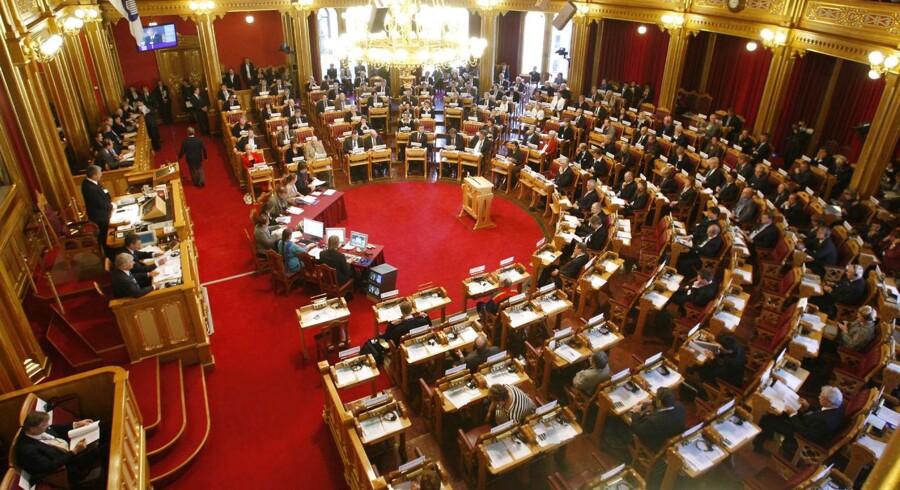 Manden blev anholdt og sigtet for spionage efter at have deltaget i en it-konference i det norske parlament, Stortinget.