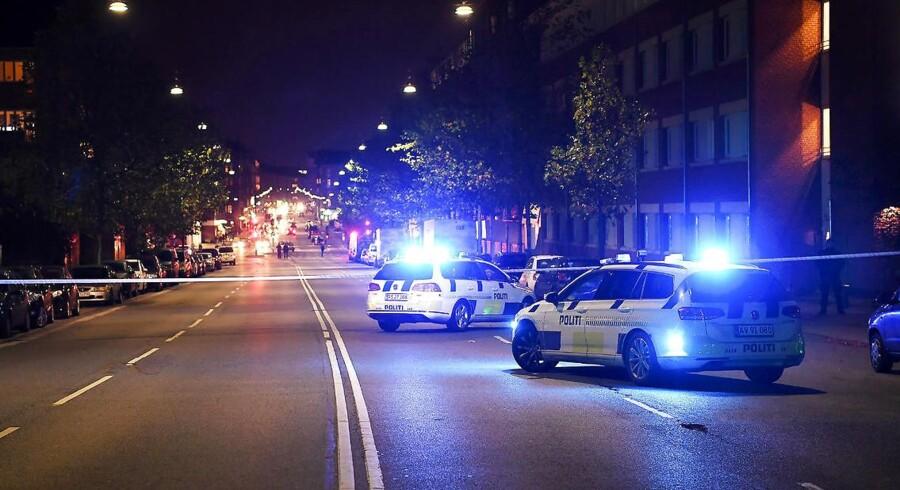 Arkivfoto: Politiet var massivt til stede på Tagensvej på Nørrebro i København efter et skyderi 31. oktober sidste år. Skyderiet var ifølge politiet et led i bandekonflikten mellem Loyal to Familia (LTF) og Brothas. Tre personer blev ramt, en af dem – et højtstående medlem af Brothas – blev dræbt.