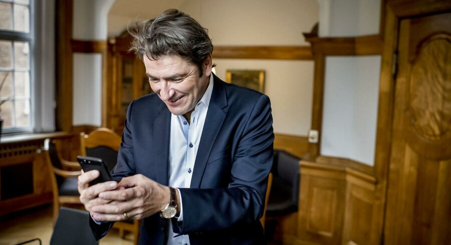 »Digitaliseringen er over os. Robotterne kommer, og alt bliver koblet op på internettet,« siger André Rogaczewski, medstifter af og topchef i IT-kometen Netcompany, og ny repræsentantskabsformand i Fonden for Entreprenørskab.