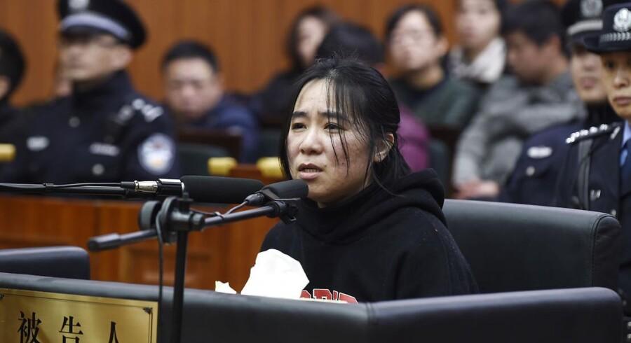 Mo Huanjing blev dømt til døden i februar og er nu blevet henrettet i Kina.