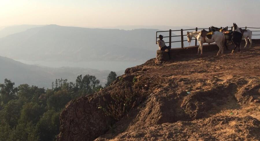 Panchgani ligger på toppen af et plateau i midten af Sahyadri-bjergkæden i det østlige Indien små 300 km fra Mumbai. Fotos: Tina Juul Rasmussen