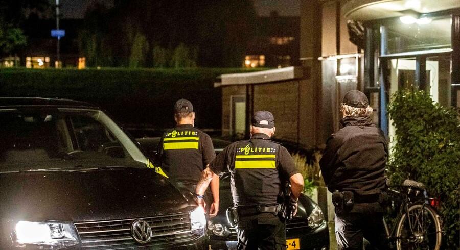 Hollands politi.