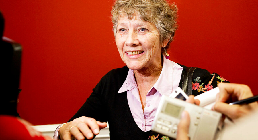 SF-veteranen Margrete Auken har været medlem af Europa-Parlamentet siden 2004 og er partiets spidskandidat.