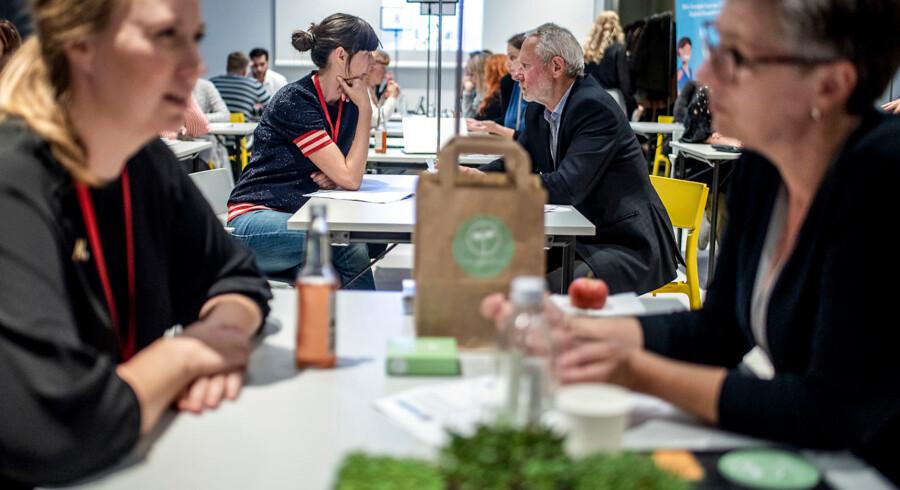 Der har i alt været syv matchmaking-arrangementer i Københavns Kommune. Det seneste var i september, hvor 40-45 ledige deltog.