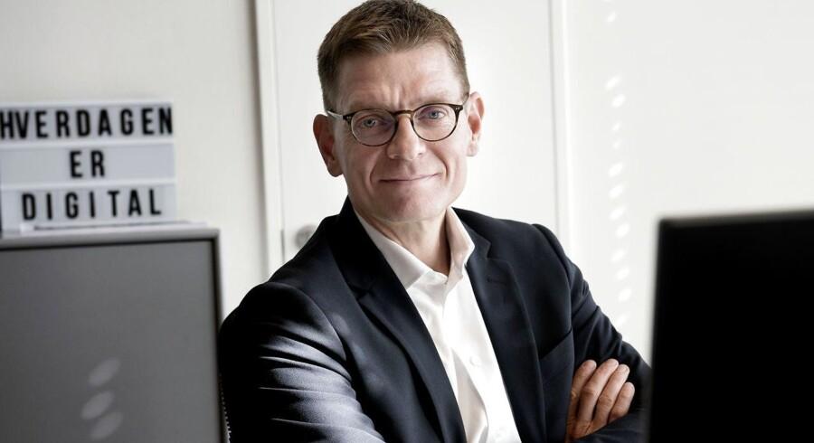 Lars Frelle-Petersen, som i årtier har været frontkæmper for digitaliseringen af det offentlige Danmark, er rykket til den anden side af bordet og blevet digital direktør i Dansk Industri (DI).