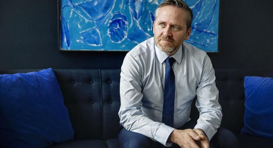 Anders Samuelsen og LA kommer nu med et modsvar til den seneste Venstre-kampagne, hvor partiet brystede sig af, at der siden 2001 er tilført 75 milliarder kroner mere til velfærd. (Foto: Emil Hougaard/Scanpix 2017)