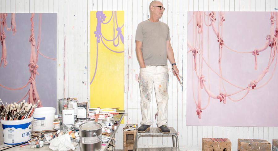 Kunstner Michael Kvium