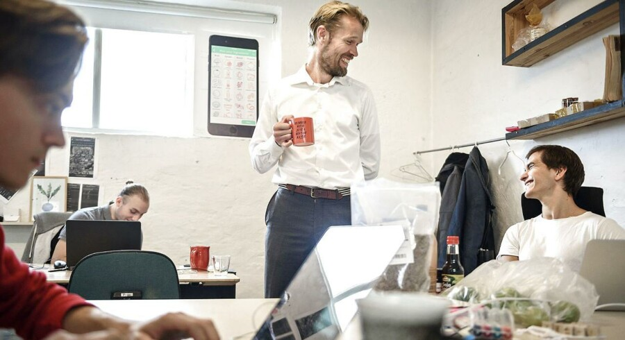 Michael Haase, der er stifter af iværksættervirksomheden Plant Jammer, har netop fået en investering fra den tyske gigantkoncern Miele. Det er blot endnu et eksempel på store selskaber, der i stigende grad prøver at få del i den kreativitet og idérigdom, der trives i iværksættermiljøet.
