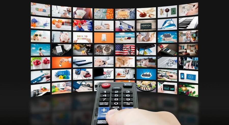 13 procent af danskerne har ikke længere TV-abonnement, og tallet ventes at vokse. Derfor opruster streamingtjenesterne for at stå klar til at tage imod kunderne. Arkivfoto: Iris/Scanpix