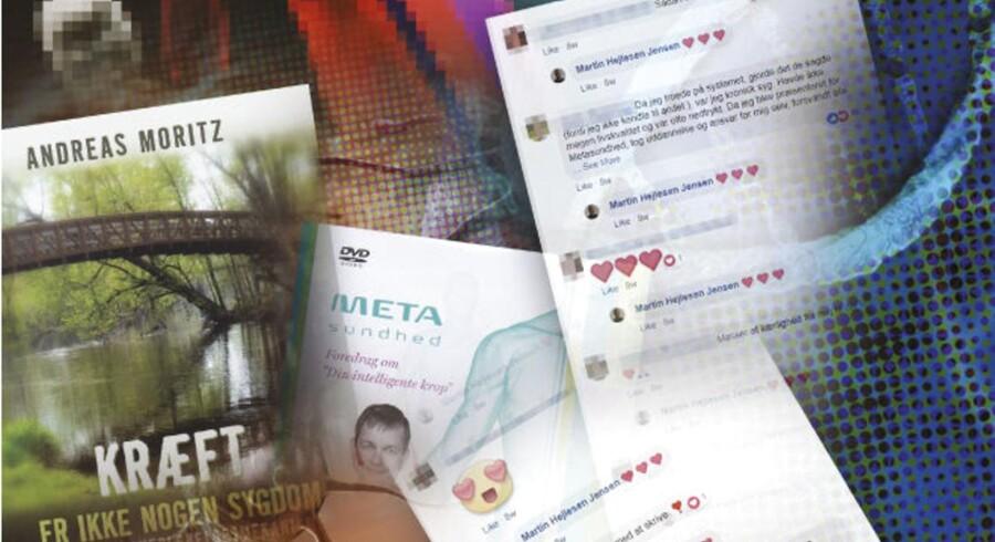 Den alternative sygdomsopfattelse metasundhed vinder frem. Der skrives bøger om tankegangen, men den trives også i onlinefællesskaber på sociale medier.
