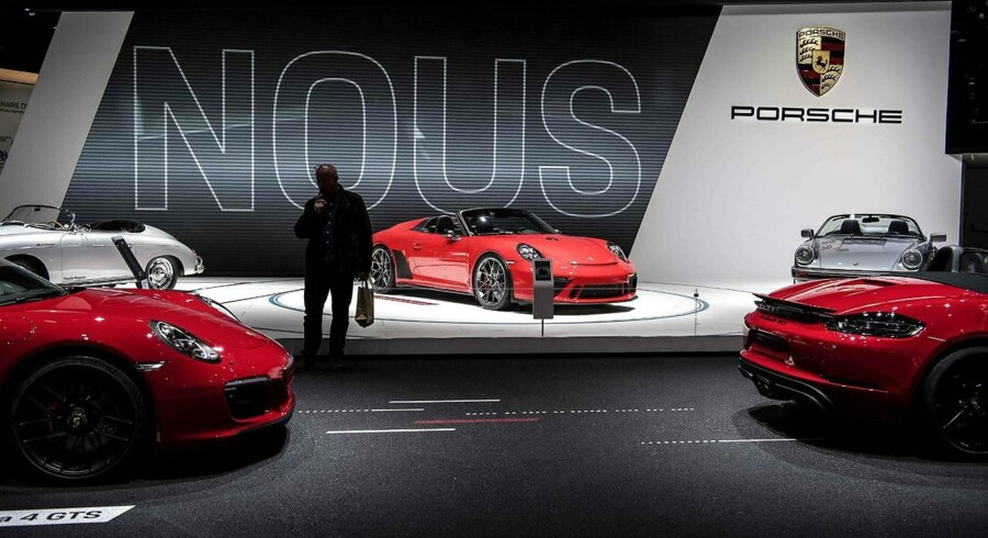 Porsche 911 Speedster bliver sat i produktion. Foto: Christophe ARCHAMBAULT / AFP)