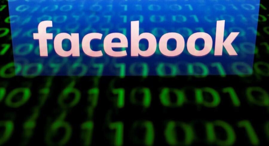 Facebook tredoblede i 2017 sin skatteindbetaling i Storbritannien. Arkivfoto: Lionel Bonaventure, Scanpix