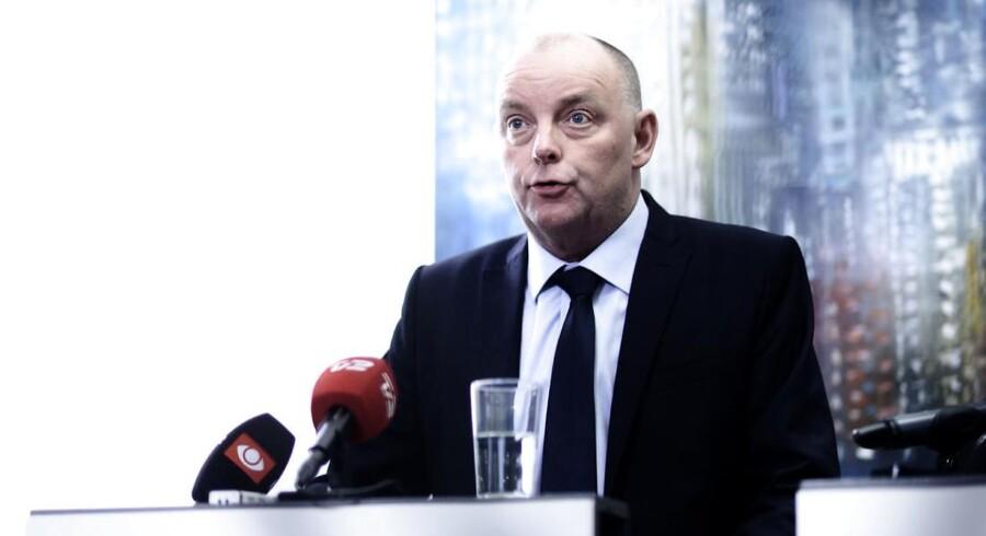 Under mandagens afhøring i Københavns Byret løftede den nuværende chef for Politiets Efterretningstjeneste, Finn Borch Andersen, sløret for, hvorfor tjenesten begyndte at fokusere på »Syv år for PET«. (ARKIV)