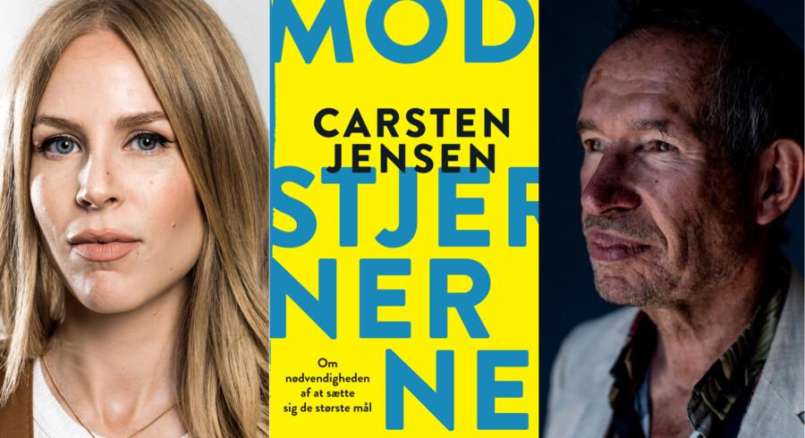 Eva Selsing, der anmelder, og Carsten Jensen, som anmeldes.
