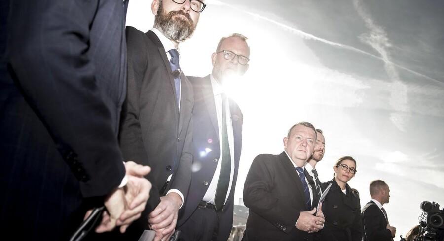 Foto: Mads Claus Rasmussen/Ritzau Scanpix: 9. oktober fremlagde regeringen sit klimaudspil, der samtidig bør give lejlighed til at se på at lette en række skatter.