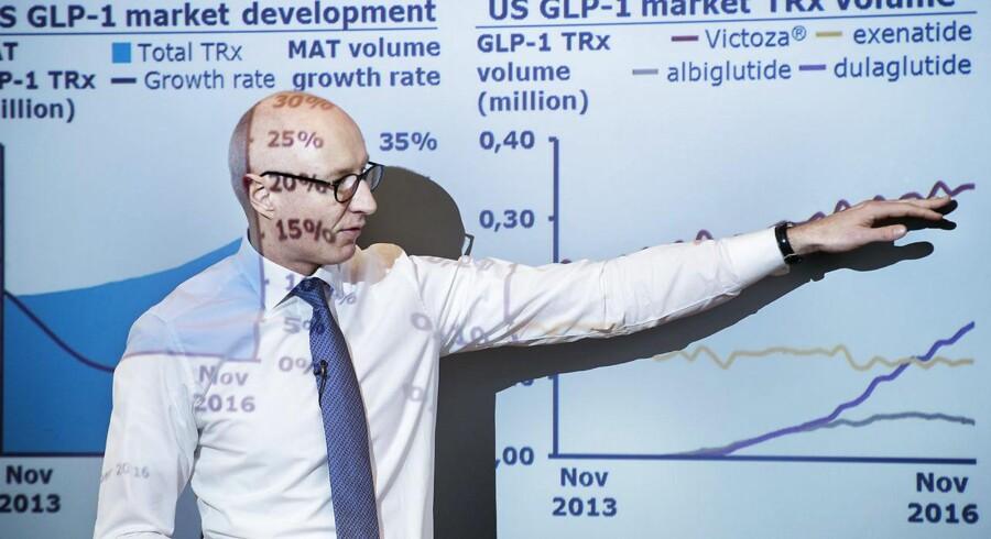 Novo Nordisk har med topchef Lars Fruergaard Jørgensen i spidsen sat gang i en større offensiv med væksthåbet Ozempic.