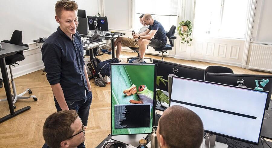 Den danske iværksættervirksomhed Spektral fik sidste år 20 mio kr. i funding fra investorer i Silicon Valley, men nu er det også kommet frem, at sleskabet er blevet overtaget af den amerikanske teknologikæmpe Apple. Her ses en af stifterne, Toke Jansen.