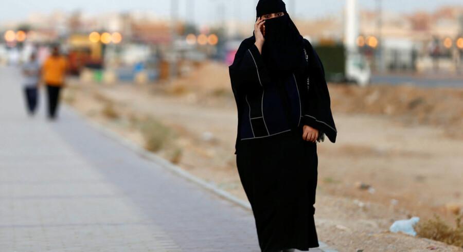 Saudi-Arabien vil være en filmnation. Men til lanceringen af deres nye tiltag, handlede langt de fleste spørgsmål om kvinders rettigheder.-TELECOMS/BAN.. (Foto: FAISAL AL NASSER/Scanpix 2017)