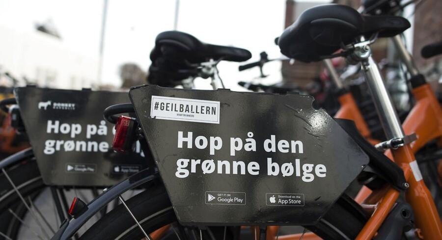 København er storbyernes klimaduks og er bl.a. udpeget som vært for et prestigefyldt borgmestertopmøde i 2019 på grund af byens status som grøn innovatør, men det er ikke nok at være en »grøn darling«. Det er nødvendigt at få målt københavnernes samlede fodaftryk på klimaet. Foto: Liselotte Sabroe/Ritzau Scanpix