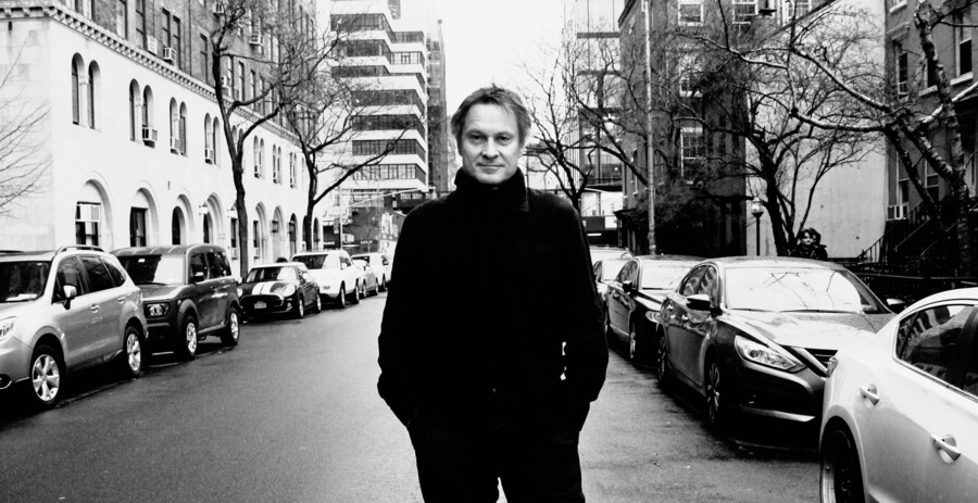 Claus Meyer i New York.
