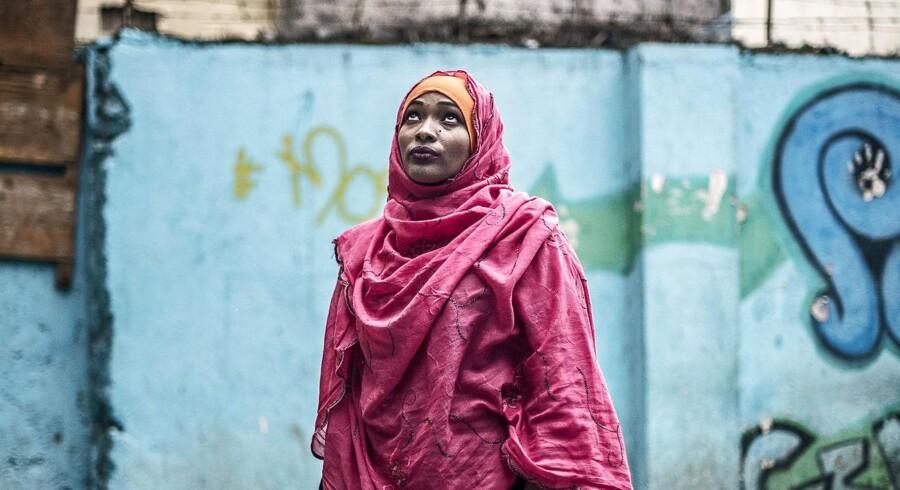 ung mor, som har fortrudt at hun har fået sine to børn - hedder Hawa Abd Al-Mohammad FHOK Nairobi Youth Centre. Sundhedsklinik i Eastleigh, kendt som Lille Mogadishu i Nairobi