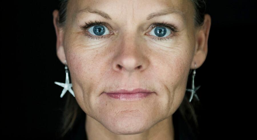 Portræt af Sussi La Cour, også kendt som Katja Kean, fotograferet til B Søndag. Hun fylder 50 år d.7 februar. 2018.