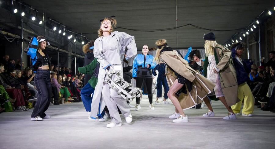 Lærke Andersen sluttede modeugen med sit fantastiske show i Nordhavn.