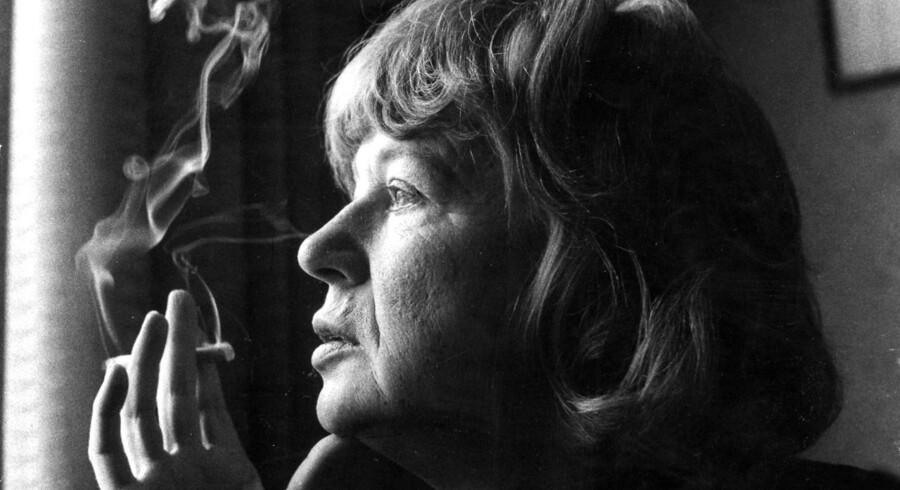 Forfatteren Tove Ditlevsen. (Arkivbillede fra 1970'erne)