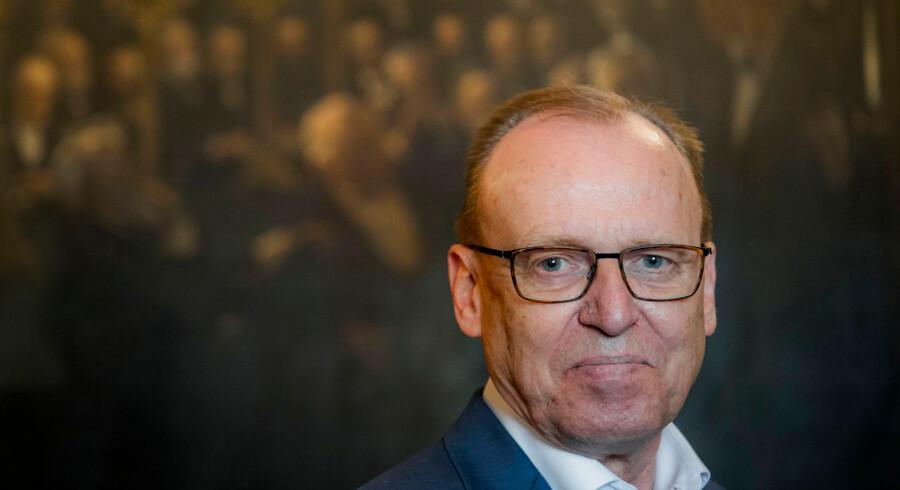 Årets Dansker. Professor, dr. scient. Flemming Besenbacher Bestyrelsesformand for Carlsbergfondet.
