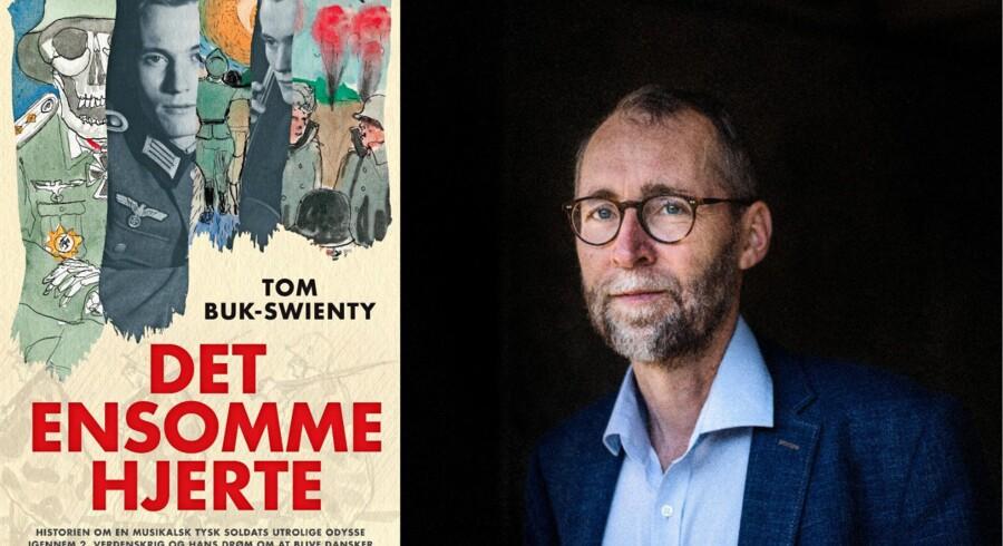 Forfatter Tom Buk-Swienty har udgivet en ny bog, »Det ensomme hjerte«..