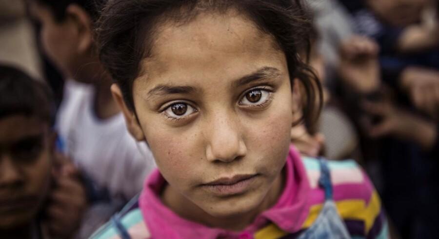 Khazar (Khazer) flygtningelejren. I lejren bor internt fordrevne irakere fra Mosul. Dura
