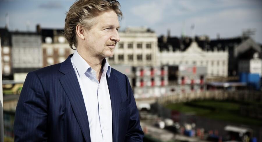 Hjemme: Berlingske Business Magasin har mødt Peter Kjær under et ophold på Hotel D'Angleterre på Kgs. Nytorv i København. Foto: Erik Refner