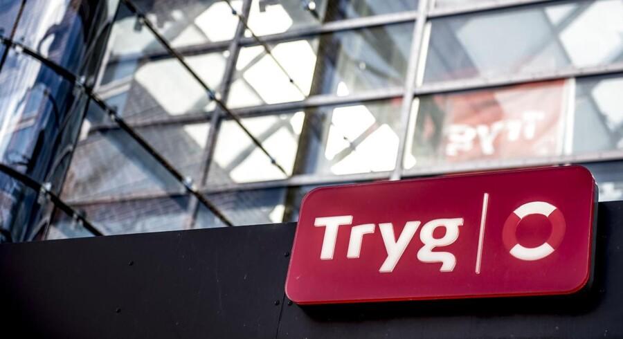 (ARKIV) Trygs hovedkontor i Ballerup, mandag den 9. oktober 2017. Landets største forsikringsselskab har torsdag præsenteret regnskabstallene for tredje kvartal.