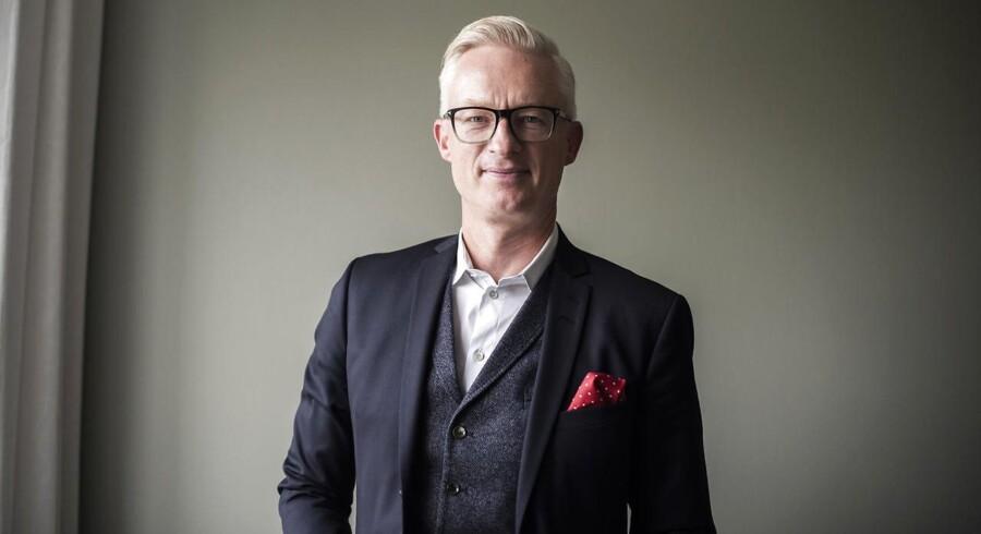 Tryg-direktør Morten Hübbe har i dag præsenteret regnskabstallene for landets største forsikringsselskab. Foto: Maria Albrechtsen Mortensen