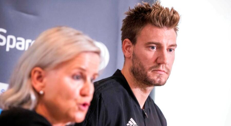 Rosenborg-leder Tove Moe Dyrhaug kan endnu ikke sige, om tiltalen får betydning for Nicklas Bendtner.