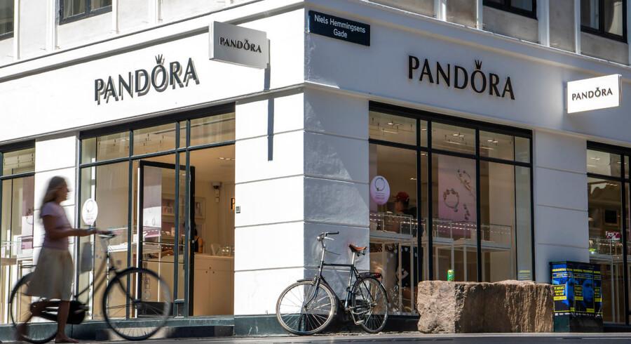 Pandora på Strøget. Arkivfoto: Søren Bidstrup